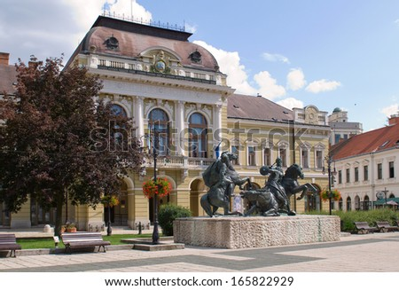 Eger is the second largest city in Northern Hungary.