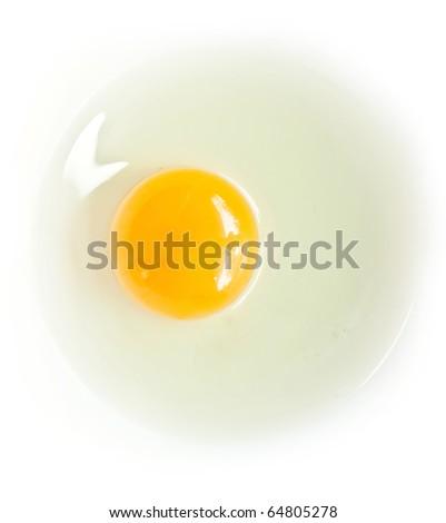 egg isolated - stock photo