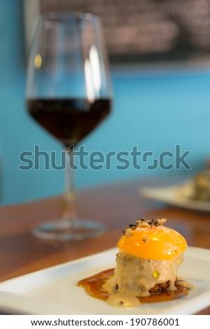 Egg Tapas - stock photo