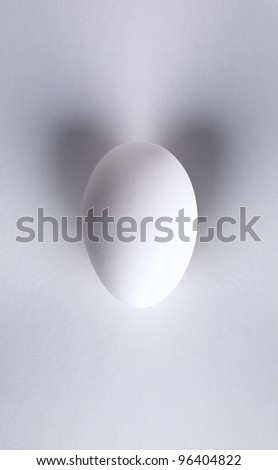 Egg with wings or ears - stock photo
