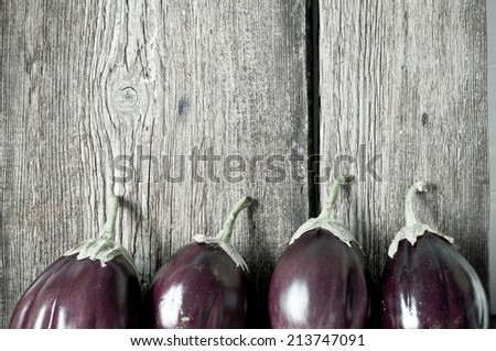 Eggplants - stock photo