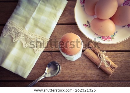 Eggs for Breakfast - stock photo
