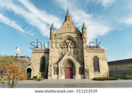 Eglise Notre Dame (meaning The Church of Our Lady) Roman Catholic parish church in Calais, France