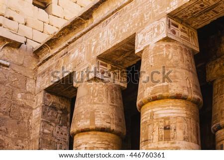 egypt columns temple ancient egyptian architecture stock photo 100