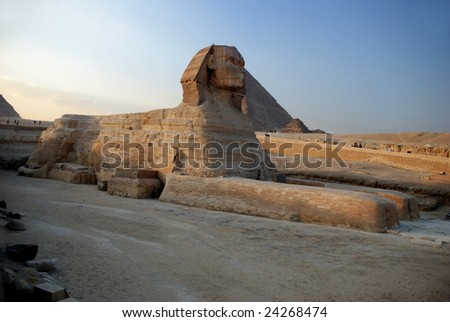 Egypt, Sphinx - stock photo