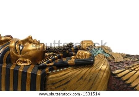 Egyptian Casket - stock photo
