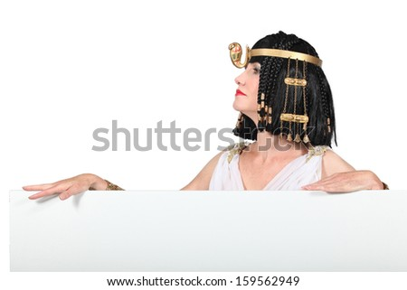 Egyptian Character - stock photo