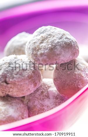 """Egyptian cookies """"Kahk El Eid"""" - stock photo"""