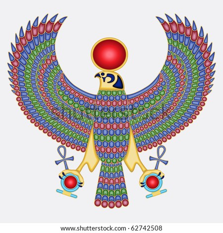 Egyptian falcon pectoral