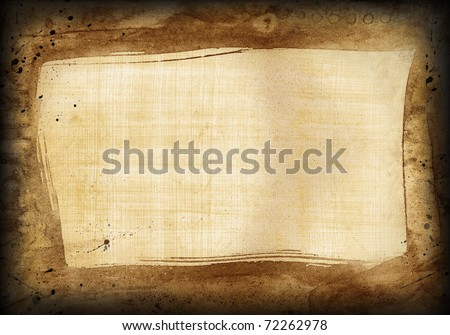 Egyptian old papyrus, texture for various design