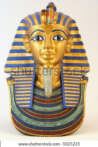 Egyptian pharaoh miniature - stock photo