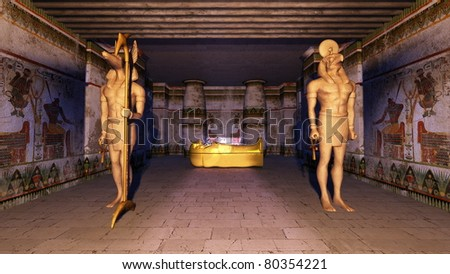 egyptian tomb project