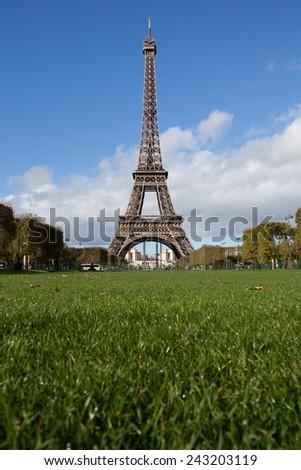 Eifel Tower - stock photo