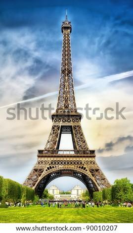 Eifelturm, Paris - stock photo