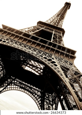 Eiffel Tour Paris - stock photo