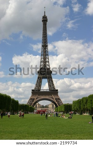 Eiffel Tower and Field of Mars
