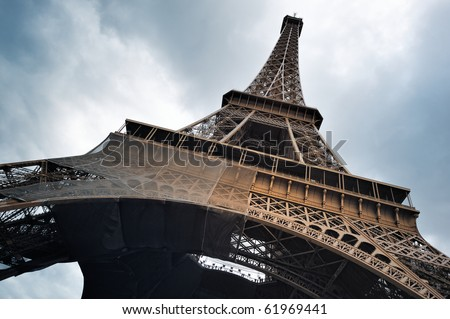 Eiffel Tower Detail Stock Photos Images Amp Pictures Shutterstock