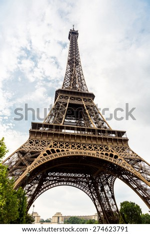 Eiffel Tower most visited monument in France