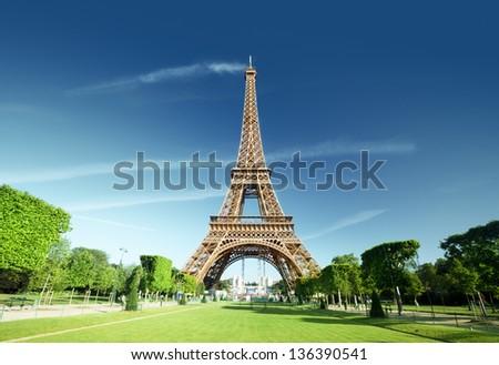 Eiffel tower, Paris. France. - stock photo