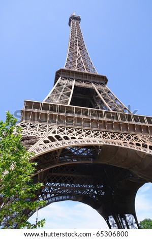 Eiffel Tower - Paris, France - stock photo