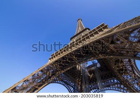 Eiffle Tower. Paris. France - stock photo