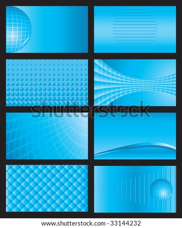 eight business card backgrounds