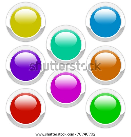 eight color buttons