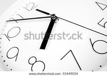 Eight o'clock - stock photo