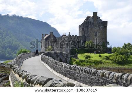 Eilean Donan Castle - stock photo