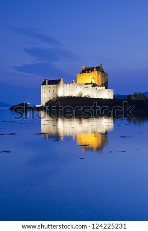 Eilean Donan Castle, Scotland, Europe - stock photo