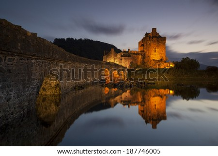 Eilean Donan Castle VI - stock photo