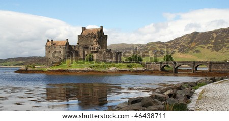 Eilean Donan Castle, west coast of Scotland