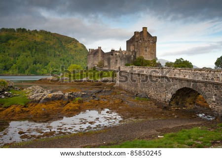Eileen Donan - stock photo