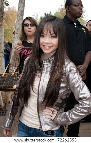 EL CAJON, CA - NOVEMBER 23: Anna Maria Perez De Tagle attends the 62nd Annual Mother Goose Parade on November 23, 2008 in El Cajon, CA. - stock photo