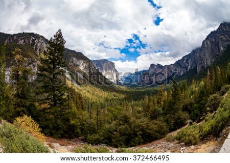 El Capitan in Yosemite National Park, California - stock photo
