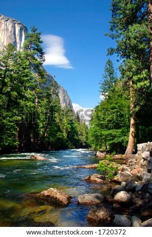 El Capitan, Yosemite National park - stock photo