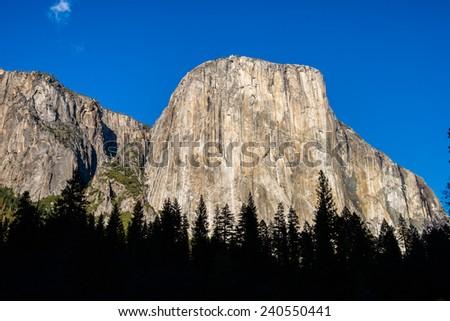 El Capitan Yosemite National Park  - stock photo