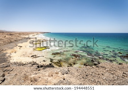 El Cotillo, Fuerteventura - stock photo