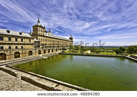 El Escorial - stock photo