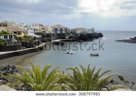 El Hierro island in Canary Atlantic Spain - stock photo
