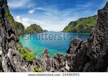 El Nido, Palawan, Philippines - stock photo
