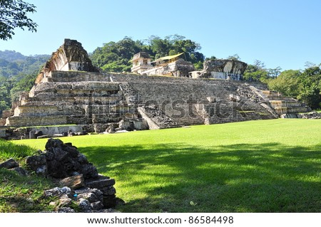 El Palacio (The Palace) - Palenque, Mexico