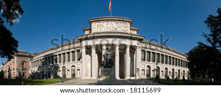 El Prado Museum - stock photo