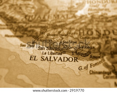 El Salvador - stock photo