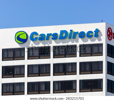 EL SEGUNDO, CA/USA - MARCH 7, 2015: CarsDirect headquarters and logo. CarsDirect is an American online automotive research portal and car buying service. - stock photo