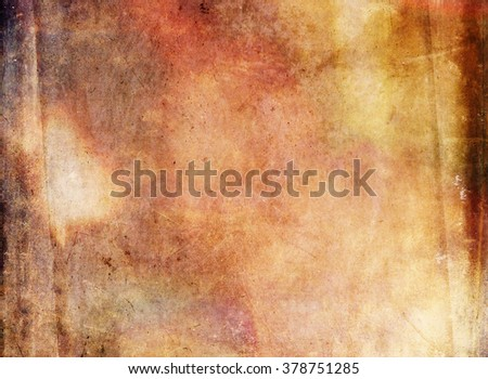 Elaborate detail contrasted with granular filters of vintage canvas paper texture for natural or artisan backgrounds