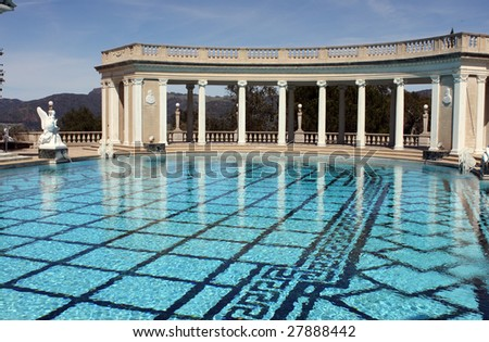 Hearst castle stock photos images pictures shutterstock for Elaborate swimming pools