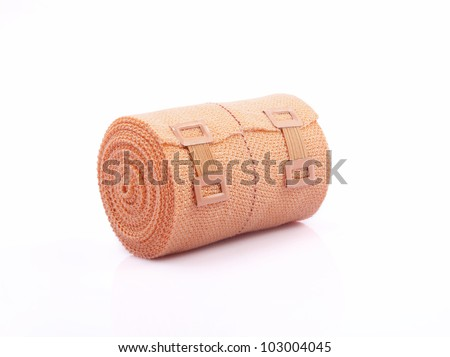Elastic Bandage - stock photo