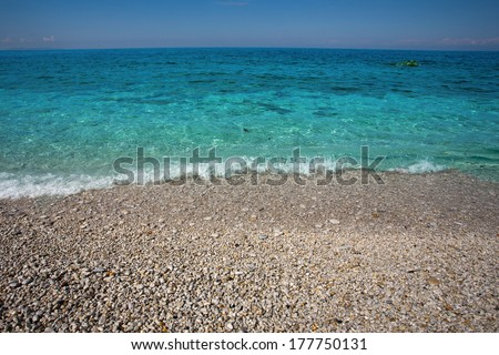 Elba Island - stock photo