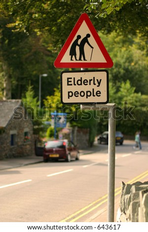 Elderly People - stock photo